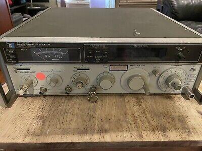 Hp 8640b Signal Generator 500khz-512mhz Works But Need Attenuator Repair