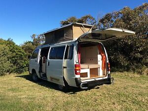 Toyota Hiace camper van excellent condition Merewether Newcastle Area Preview