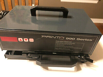 Printa 990 Series Exposure Unit For Mug Silk Screening Pad Printing Nice