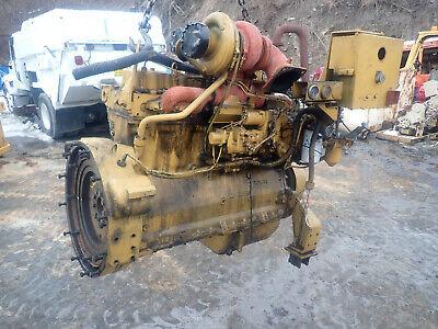 Caterpillar 3306di Turbo Diesel Engine Runs Exc. 3306 Cat 966 Loader Grader