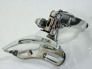 Shimano-Deore-STX-fd-mc32-31-8mm-TP-morsetti-Deragliatore-66-69-culto-Retro