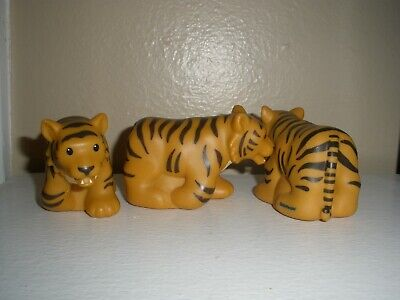 Fisher Price Little People Zoo Talkers INTERACTIVE Animal Talker TIGER Big Cat
