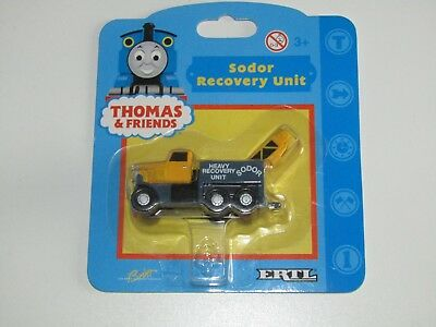 Thomas the Tank Engine and Friends ERTL Sodor Recovery Unit truck SEALED ON CARD