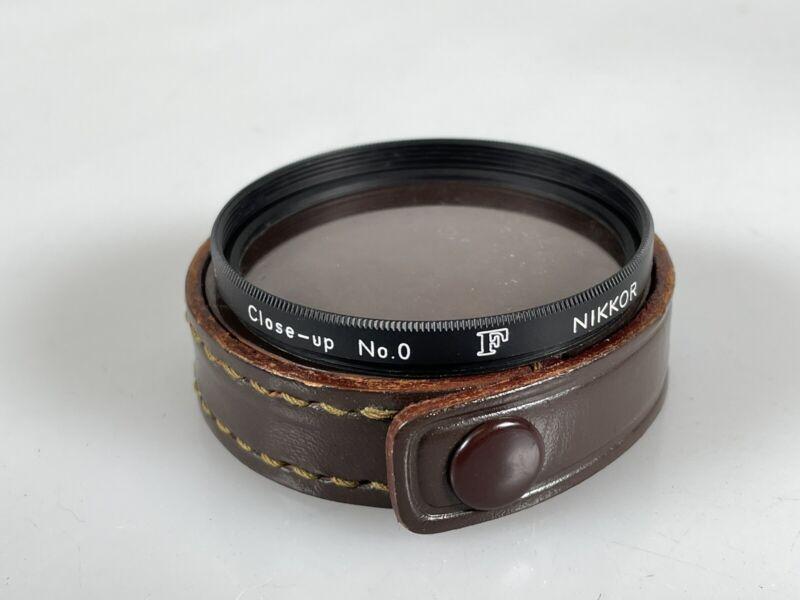 Nikon 52mm NO. 0 Close Up Lens