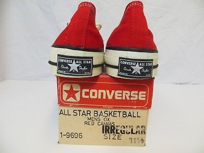 Converse Vintage Chuck Taylor RED size 11.5