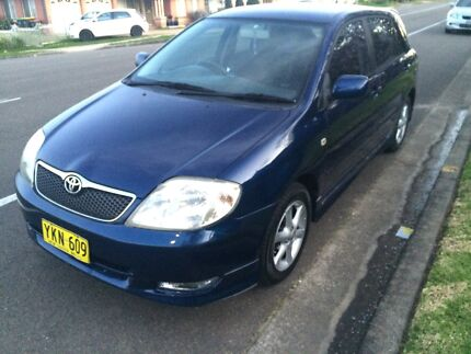 Toyota Corolla levin 2002 5 months rego low km quick sale  Casula Liverpool Area Preview