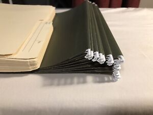 Hanging file holders and folders for sale