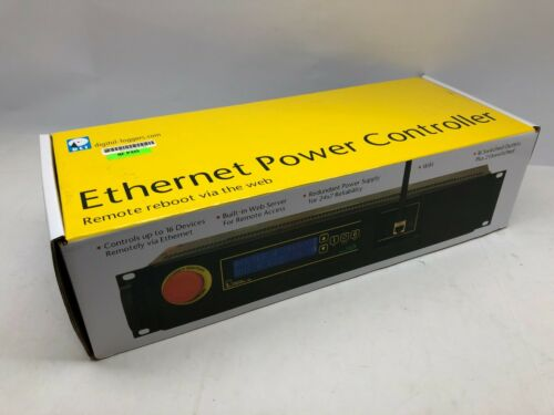 *NEW* Digital Loggers (DLI) EPCR5 Ethernet Power Controller