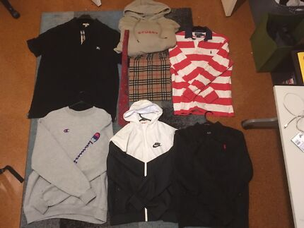 Burberry, Givenchy etc. clothing