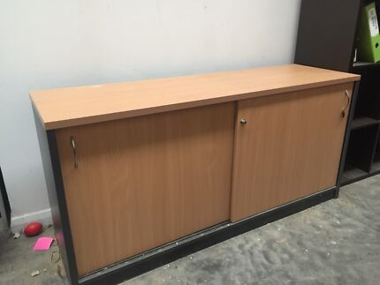 Credenza Ikea Australia : White and glass ikea credenza with drawers shelves cabinets