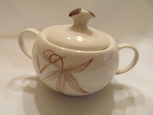 WINFIELD PASSION FLOWER SUGAR BOWL WITH LID