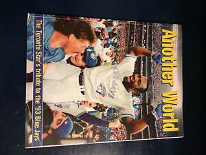 TORONTO BLUE JAYS 1993 WORLD SERIES MAGAZINE!!!