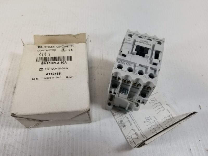 Automation Direct GH15DN-3-10A Electrical Contactor