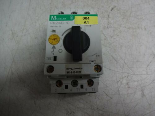 Klockner Moeller Pkzm0-10 Manual Motor Starter