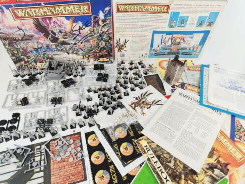 The Game of Fantasy Battles 4th edition, Warhammer complete [ENG,1992]