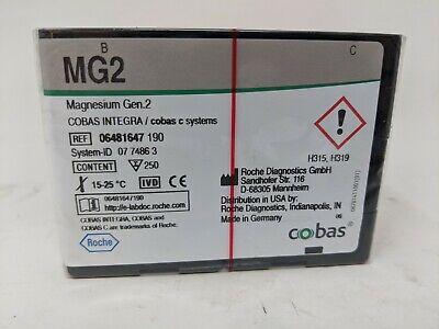 Roche Diagnostics Cobas Mg2 Magnesium Gen.2 Cobas C Systems Exp 01312022