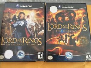 Lord of the rings GameCube game set