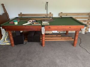 Large pool table - solid