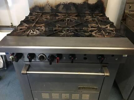 GARLAND Oven AND 6 Burner