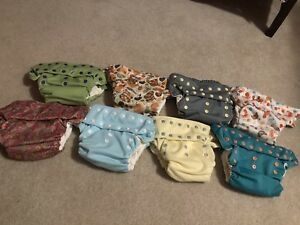Excellent condition Smart Bottoms cloth diapers