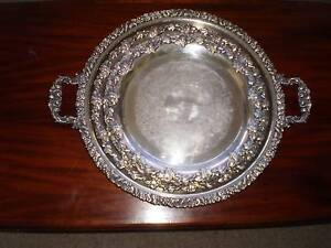 3 Hecworth genuine reproduction old Shefield silver Serving Trays Norwood Norwood Area Preview