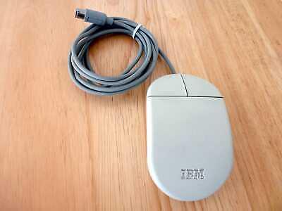 IBM Maus  zwei Tasten  Model 13H6690 mit PS/2 Stecker