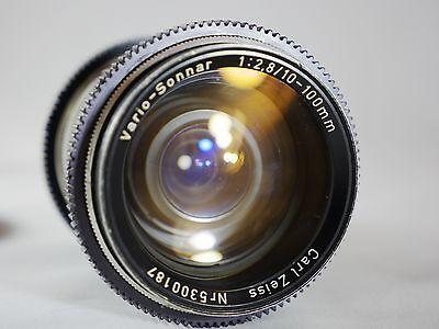 CARL ZEISS VARIO-SONNAR 10-100MM 1:2.8 T* LENS FOR ARRI B-MOUNT ARRIFLEX Digital