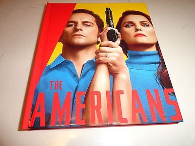 THE AMERICANS,SEASON 5: 1ST FIVE EPISODES, 2017 EMMY 2-DVD SET 10-PAGE PHOTO ART