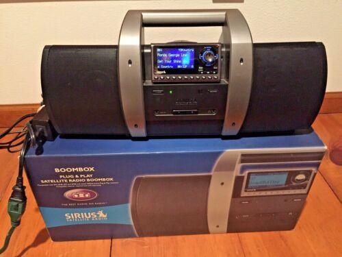 Sirius SUBX1R Portable Satellite Radio Boombox Speaker System with Sportster 5