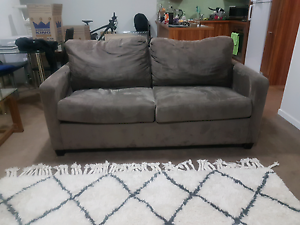 Double fabric sofa bed Erskineville Inner Sydney Preview