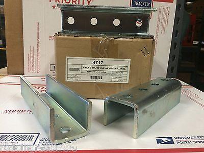 4717 P1377 1 58 4 Hole Splice Clevis Coupler For Unistrut Channel Qty 4