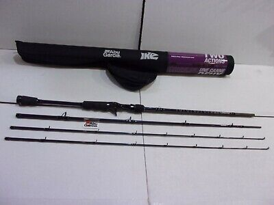 Abu Garcia Ike Power Series Travel Casting Rod with case  MIKEC70M/MH-3