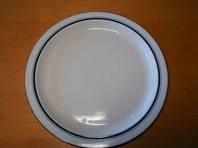 Dansk Portugal Bistro CHRISTIANSHAVN Blue Set of 2 Dinner Plates