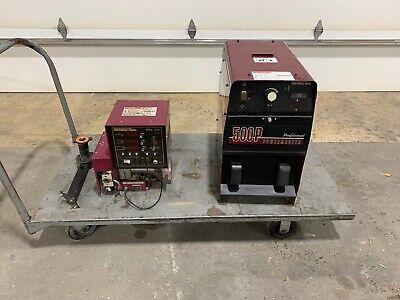 Thermal Arc Power Master 500p Welder And Hmc 410 Wire Feeder