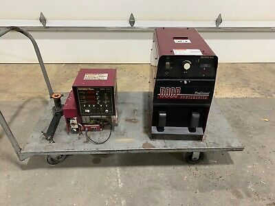 Thermal Arc Power Master 500p Welder And Hmc 410 Wire Feeder