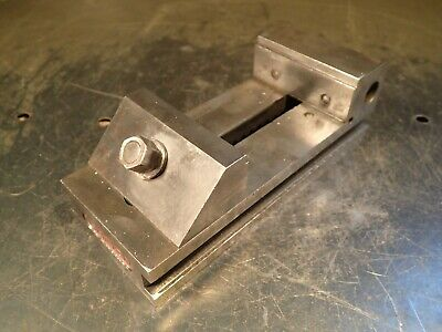 2-12 Wide Jaw Precision Toolmakers Grinding Vise Jaws Open 2-34 Used Good