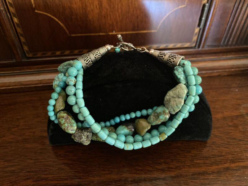 Estate Beautiful Turquoise Bracelet