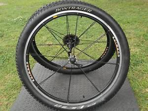 Pushbike Parts Pair Maxxis Wheels And Tyres Bicycle Parts And