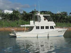 "11m. HUBERT LOW CLASSIC, LIVE-ABOARD CRUISER (""SEA SPRAY III"") Cardwell Cassowary Coast Preview"