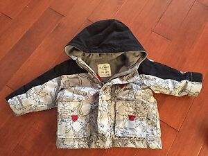 Boys old navy coat size 6-12 months - $5