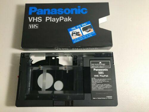 Panasonic VHS PlayPak VHS-C Adapter, Tested
