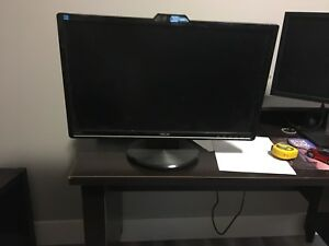 "ASUS 24"" computer monitor with webcam"