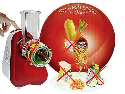 Moulinex Fresh Express Zerkleinerer Küchenmaschine Reibe Schnitzelwerk DJ7535 10