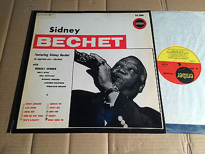 SIDNEY BECHET / MUGGSY SPANIER AND HIS ALL STARS - TRIBUTE TO SIDNEY BECHET - LP