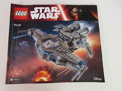 INSTRUCTIONS ONLY for LEGO Star Wars STARSCAVENGER # 75147 MANUAL ONLY NO PARTS