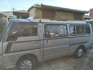 Nissan urvan camper van