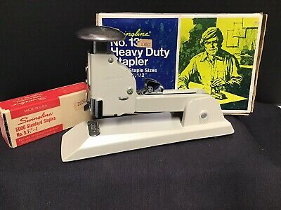 Vintage Swingline Heavy Duty Stapler - No. 13 Speed Stapler - Tough Effective