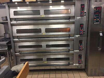 Hobart 4 Deck Pizza Oven 4hbdo 4 Tier Electric