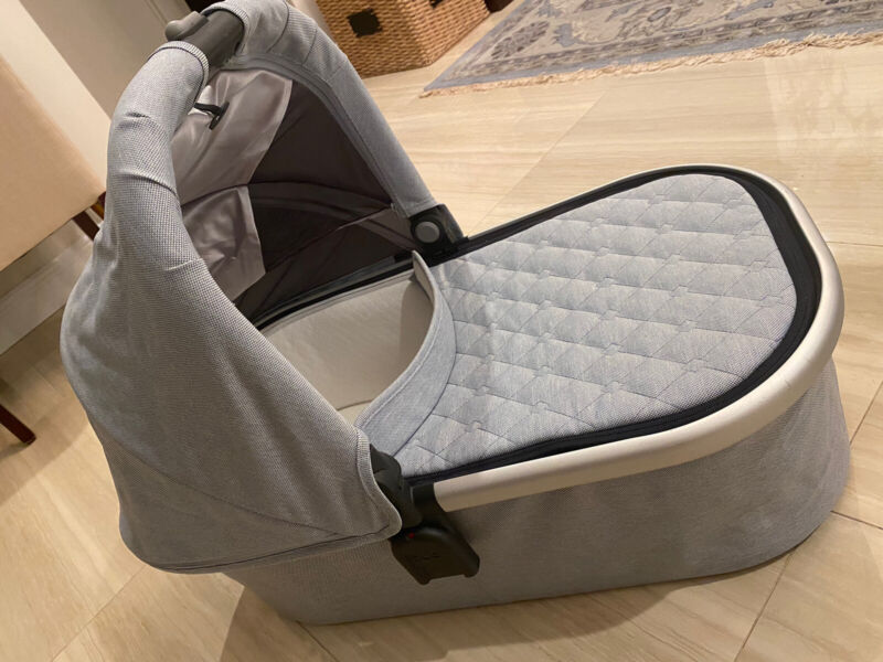 UPPAbaby® VISTA/CRUZ Bassinet in Navy/Gray With Carrying Case