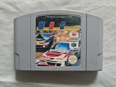 MRC MULTI RACING CHAMPIONSHIP Nintendo 64 N64 Game PAL VERSION